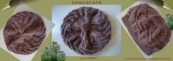 Gorro-boina: Chocolate - GR-017