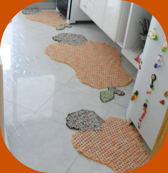 j tapetes de barbante para cozinha tapetes artesanais elo7