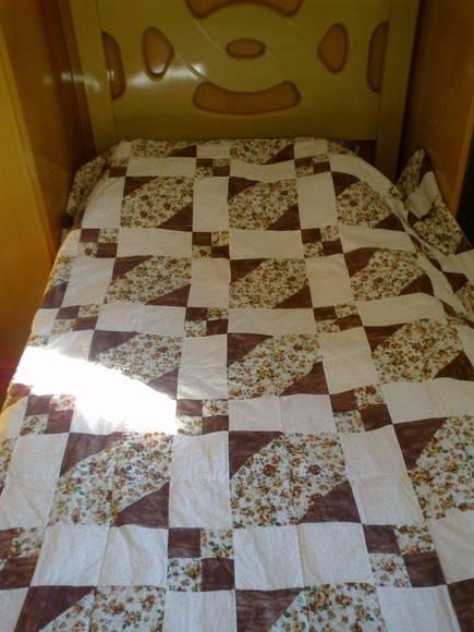 Colcha de solteiro em patchwork elo7 - Colchas de patchwork modernas ...