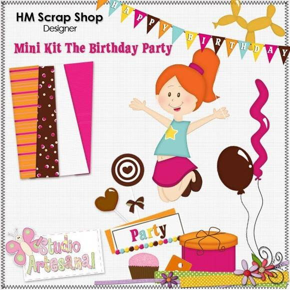 Mini Kit Digital - Birthday Party