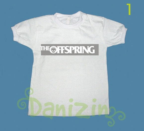 T-Shirt Bebê e Infantil OFFSPRING
