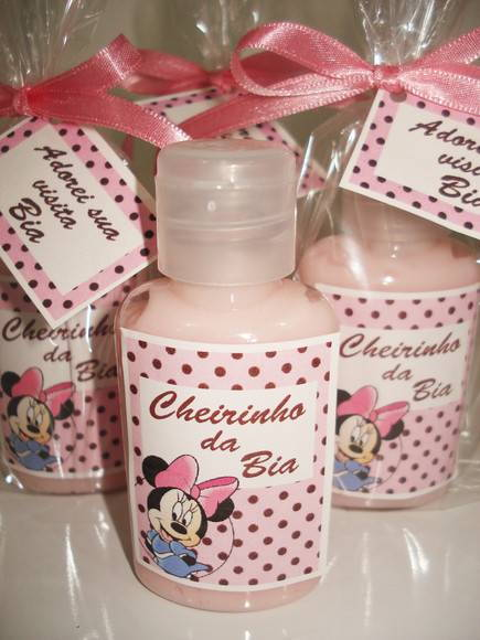 Hidratante Minnie Rosa 40ml