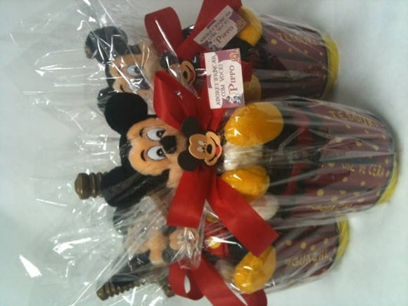 Bolsa bujão com kit mickey pirata