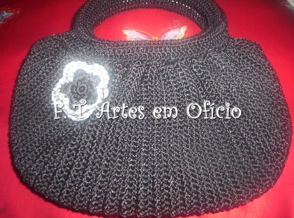 FAT BOTTON BAG PRETA