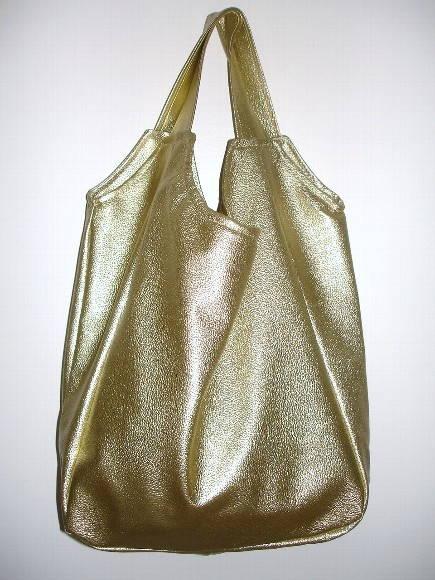 Bolsa Dourada : Bolsa tipo sacola dourada boneca de papel elo