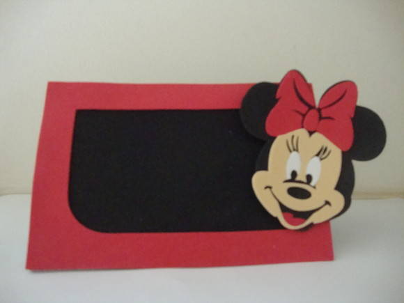 Porta retratos Minnie