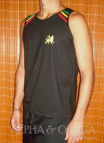 Camiseta Reggae Classic Preta  f4449af680c