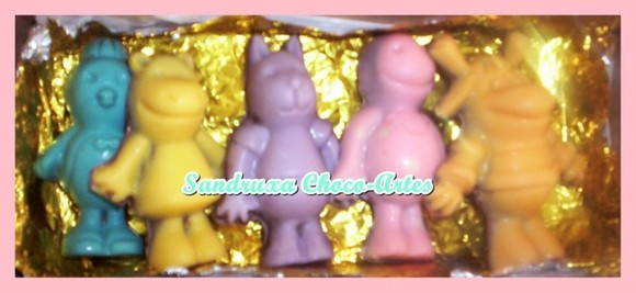 Backyardigans de chocolate