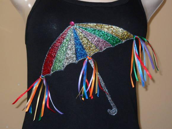 Camiseta Sombrinha De Frevo No Elo7 Juia Artes 1c9db4