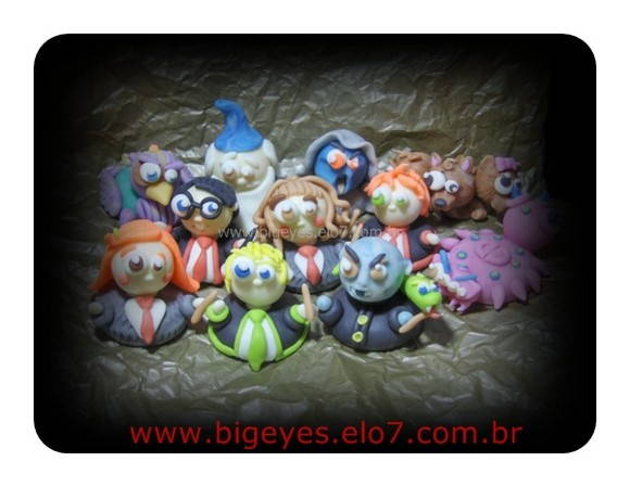 "Lembrança/pote ""Harry Potter Big Eyes""2"