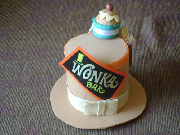 Mini Top Hat Wonka