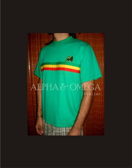 Camiseta Reggae T-shirt Roots VERDE