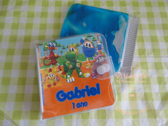 Porta CD/DVD Gel Mecanimais