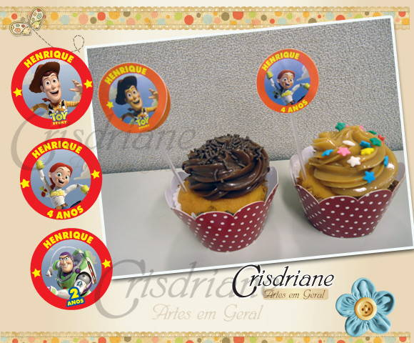 Toppers para Doces Toy Story