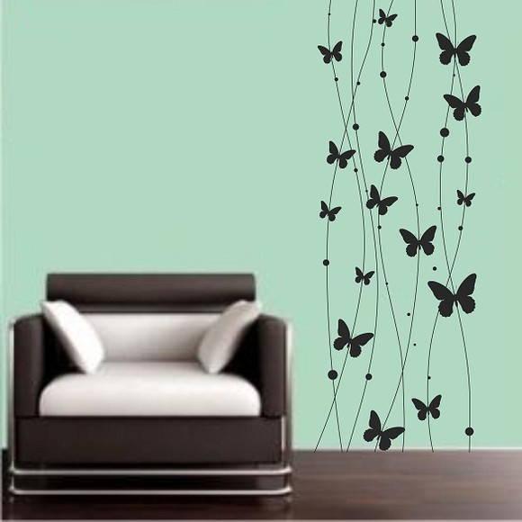 Aparador Ouro Branco ~ Adesivo de borboleta ADESIVOS COMPRAR E COLAR Elo7