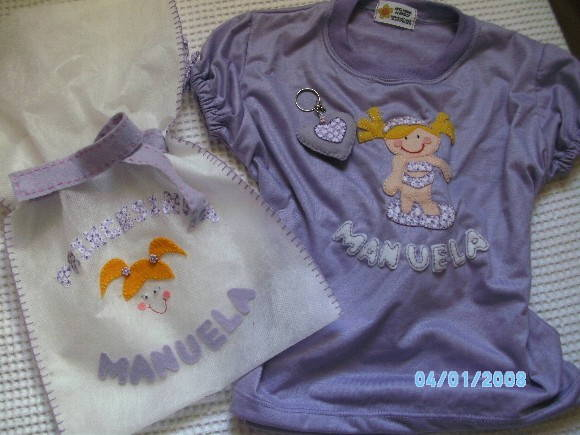 CAMISETA  INFANTIL FASHION