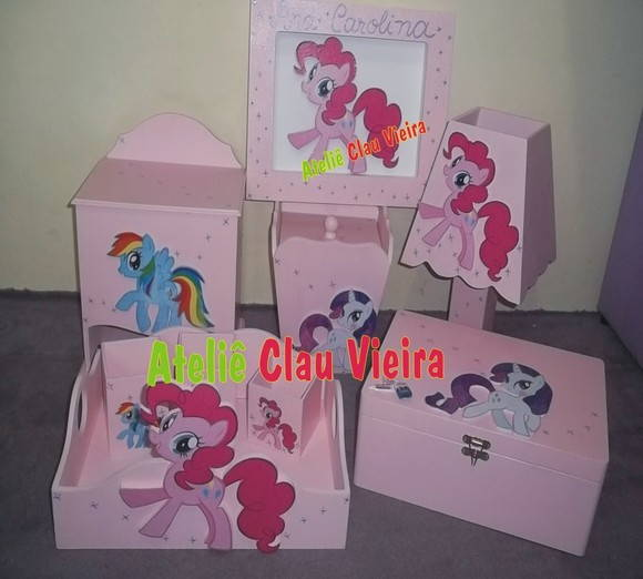 KIT DECORATIVO MY LITTLE PONY