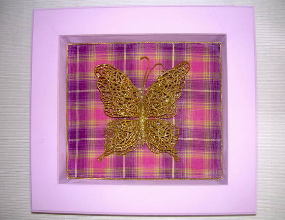 Quadro Miss Butterfly