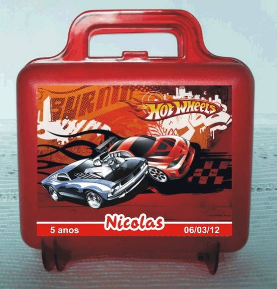 Maletinha Hot Wheels