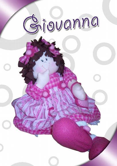 Boneca Country Giovanna