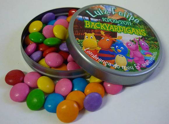 Latinha Mint To Be - Backyardigans