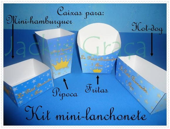 Kit Mini-lanchonete