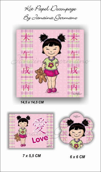Kit Decoupage JKD-007