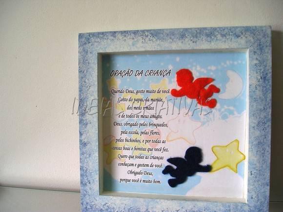 Quadro Oração Da Criança No Elo7 Idéias Criativas 1aa213