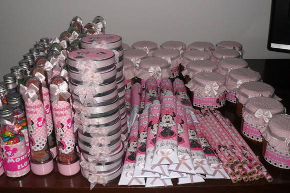 kit promocional Minnie Rosa