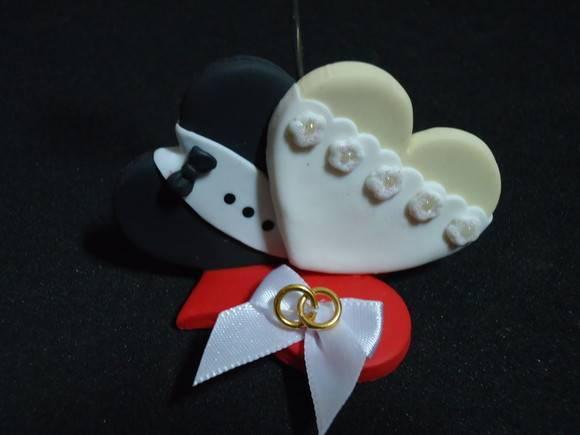 Zoom · Lembrancinha de Casamento dois Corações
