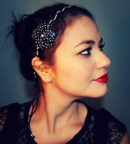 Tiara/headband PIN UP