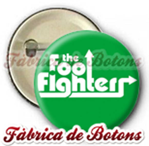 BOTON 2,5cm FOO FIGHTERS