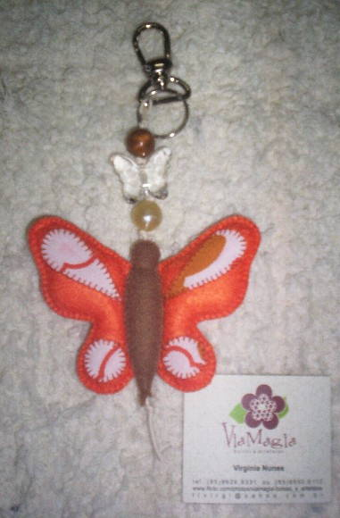 "Chaveiro ""Butterfly"""
