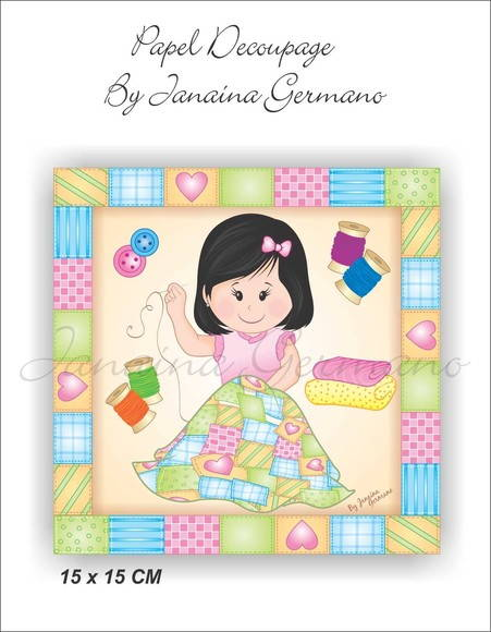 Kit Decoupage JKD-012