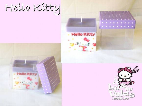 VELA PRESENTE HELLO KITTY