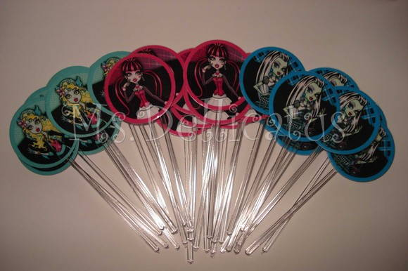 Mini Toppers - MONSTER HIGH