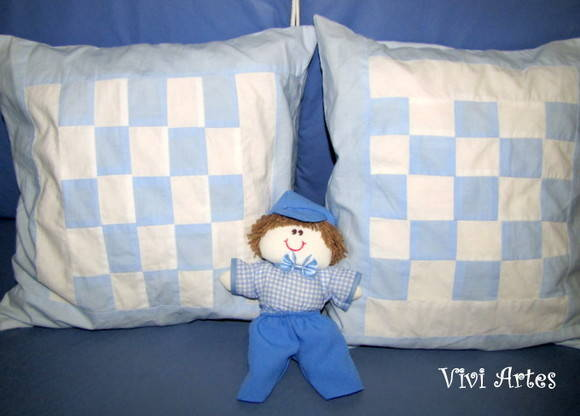 Almofada baby patchwork