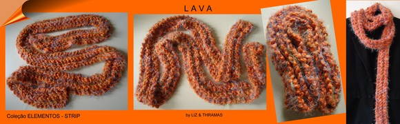 Cachecol-Strip: LAVA - CTs-007