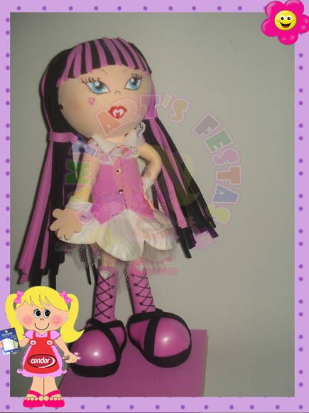 lembrancinha d monster high