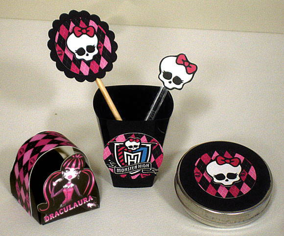 Kit de festa Monster High
