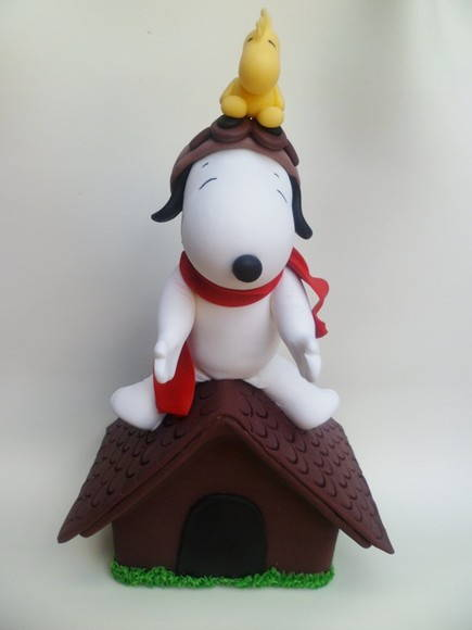 Snoopy Aviador + Casinha