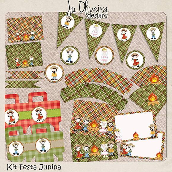 Kit Festa Junina Para Imprimir No Elo7 Juliane Oliveira 212060