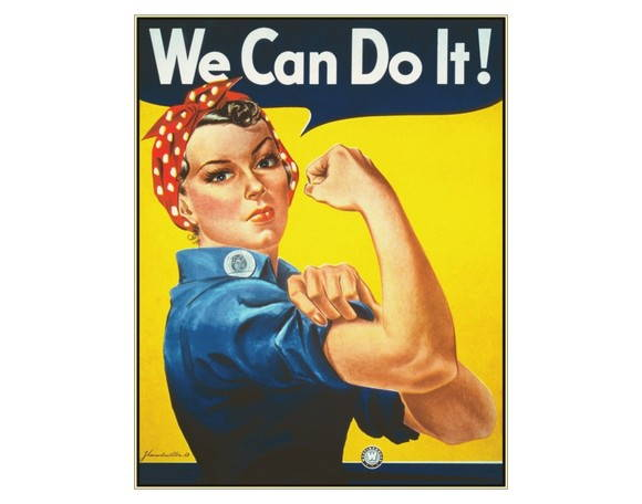 Placa MDF Retrô- We Can Do It - 236