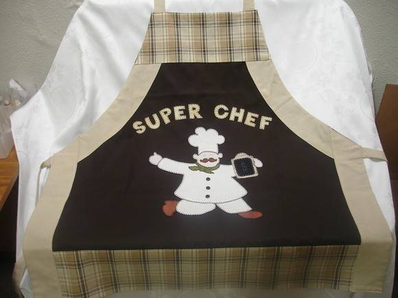 Avental super chef