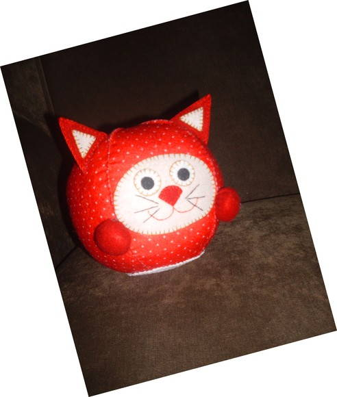 Peso de Porta Red Cat
