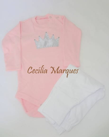 Conjunto Body/Mijão Baby Girl