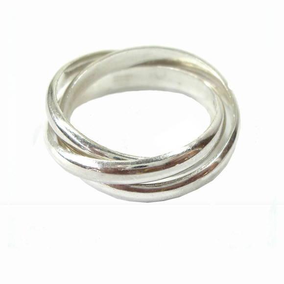 09ccd7c389c13 Anel Cartier em prata 950  no Elo7   Floq Joias (C3031)