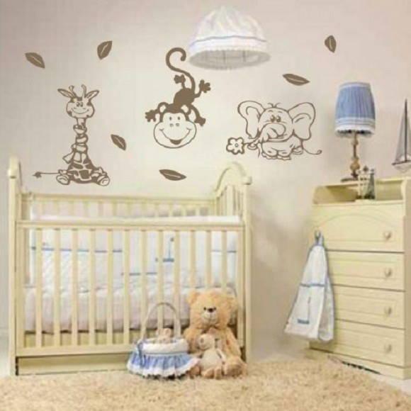 Adesivo Infantil de parede 362 ADESIVOS COMPRAR E COLAR  ~ Adesivos De Parede Para Quarto De Bebe Urso