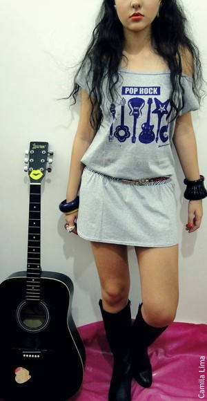 Maxi camiseta Pop Rock