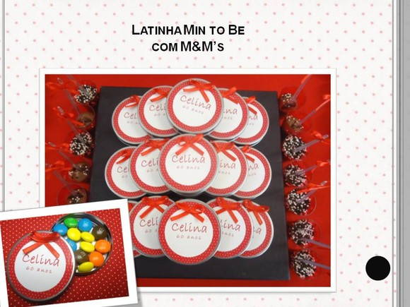 MINT TO BE - Mini Latinha Personalizada